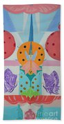 Butterfly Kisses And Ladybug Hugs Beach Towel