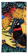 Butterfly Kisses Beach Towel