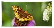 Butterfly Love Beach Towel