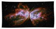 Butterfly Nebula Ngc6302 Beach Sheet