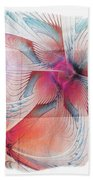 Butterfly Note Beach Towel