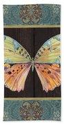 Butterfly Tapsetry-jp2197 Beach Towel