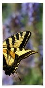 Butterfly Thoughts Beach Towel