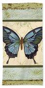 Butterfly Trio-3 Beach Towel