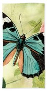 Butterfly Visions-b Beach Towel