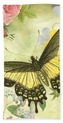 Butterfly Visions-d Beach Towel