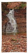 Buttermilk Falls Beach Towel