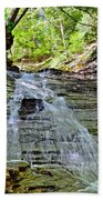Butternut Falls Beach Towel by Frozen in Time Fine Art Photography