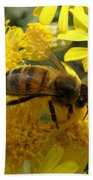 Buzzzzzy Beach Towel by Lainie Wrightson