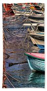 By A Nose Mykonos Greece Beach Towel