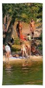 By The River Beach Towel