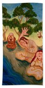 By The Rivers Of Babylon - Psalm 137 Beach Towel