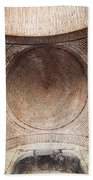 Byzantine Medieval Dome Ceiling Beach Sheet