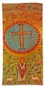 Byzantine Mosaic Beach Towel