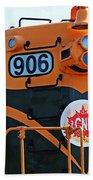 C N R Train 906 Beach Towel