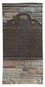 Ca-489 Moreland School Beach Towel