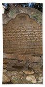 Ca-670 Mariposa County Courthouse Beach Towel