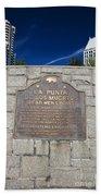 Ca57-la Punta De Los Muertos Dead Mens Point Beach Towel