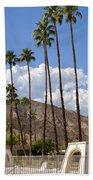 Cabanas Palm Springs Beach Towel