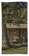 Cabin In The Wood Beach Sheet