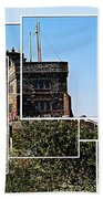 Cabot Tower Montage Beach Towel