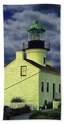 Cabrillo National Monument Lighthouse No 1 Beach Towel