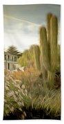 Monterey California Cactus Garden Beach Towel