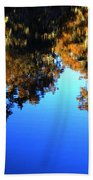 Caddo Lake Reflections Beach Towel