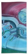 Cadzilla 1953 Cadillac Series 62 Convertible Beach Towel