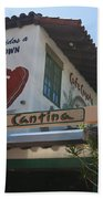 Cafe Coyote Y Cantina Mexican Restaurant Old Town San Diego Beach Towel