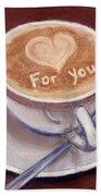 Caffe Latte Beach Sheet
