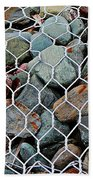 Caged By Barbara Griffin Beach Towel