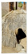 Cahuilla Indian Dwelling In Andreas Canyon In Indian Canyons-ca Beach Towel
