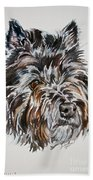Cairn Terrier Martha Beach Towel