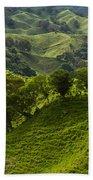 Caizan Hills Beach Towel