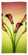 Cala Lily 6 Beach Towel