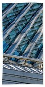 Calatrava In The Morning Beach Towel by Mary Machare
