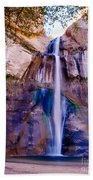 Calf Creek Falls  Beach Towel