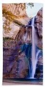 Calf Creek Falls 2 Beach Towel