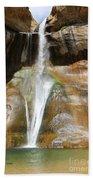 Calf Creek Falls 3 Beach Towel