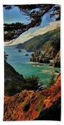 California Coastline Beach Sheet