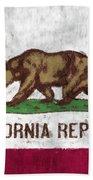 California Flag Beach Towel
