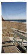 California Lifeguard Shack At Zuma Beach Beach Towel