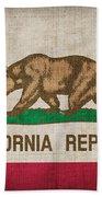 California State Flag Beach Towel