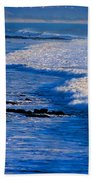 California Pismo Beach Waves Beach Towel
