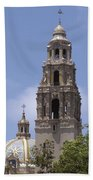 California Tower, Balboa Park, San Diego, California Beach Towel