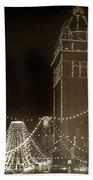Call Building On Market Street San Francisco California 1902 Beach Towel