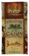 Call Of The Wilderness Beach Towel