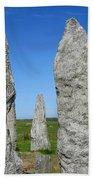 Callanish Stone Circle Beach Towel