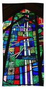 Callaway Gardens Chapel Stained Glass Beach Towel
